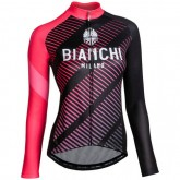 Bianchi Milano Maillot Manches Longues Femme Catria Magasin Paris