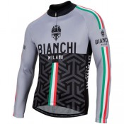 La Collection 2018 Bianchi Milano Maillot Manches Longues Montalto