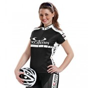 Bobteam Colors Maillot Femme Noir-Blanc France Pas Cher