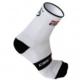Castelli Chaussettes Rosso Corsa 13 Blanches Original