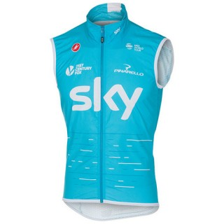 Castelli Gilet Coupe-Vent Team Sky 2017 Vendre France