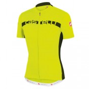 Castelli Maillot Manches Courtes Prologo 4 Jaune France Magasin