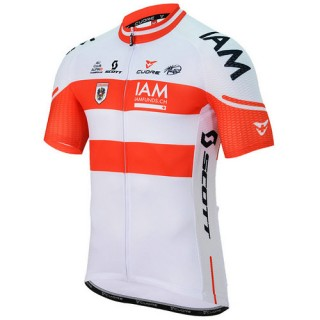 Nouvelle Cuore Maillot Manches Courtes Iam Cycling Team