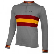 Boutique officielleDe Marchi Maillot Manches Longues Heritage Merino
