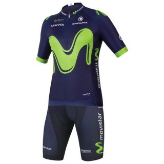 Magasin Endura Set (2 Pièces) Movistar Team 2017 Paris