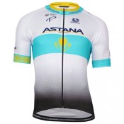 Collection Giordana Maillot Manches Courtes Astana Pro Team Soldes