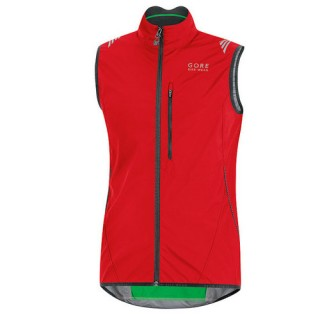 Gore Bike Wear Gilet Coupe-Vent Element Ws As Rouge Réduction