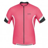 En ligne Gore Bike Wear Maillot Manches Courtes Power 2.0 Rose