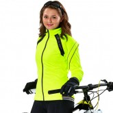 Nouvelle Gore Bike Wear Veste Hiver Femme Power 2.0 So Jaune
