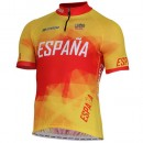 Inverse Maillot Manches Courtes Equipe Nationale Espagnol Rabais