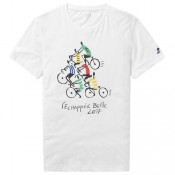 Le Coq Sportif T-Shirt Tour De France Tee 5 2017 Réduction