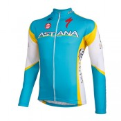 Moa Maillot Manches Longues Astana Pro Team 2012 Soldes Provence