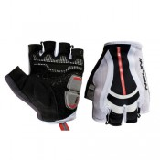 Authentique Nalini Gants Light Blancs-Noirs