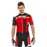 Nalini Maillot Manches Courtes Lato Rouge-Noir France Magasin