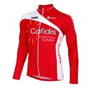 Nalini Maillot Manches Longues Cofidis 2012 Soldes Nice