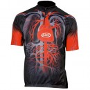 Northwave Maillot Heart Noir/Rouge Promos