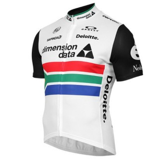 Oakley Maillot Manches Courtes Team Dimension Data Champion En Ligne