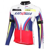 One Way Sport Maillot Manches Longues Team Katusha 2015 Boutique France