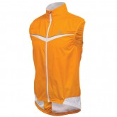 2018 Nouvelle Pearl Izumi Gilet Coupe-Vent Elite Barrier Orange-Blanc