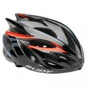 Rudy Project Casque Rush 2017 Black-Red Fluo Shiny Pas Cher Marseille