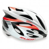 Rudy Project Casque Rush White-Red Fluo Shiny Paris Boutique