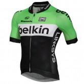 Santini Maillot Manches Courtes Belkin Pro Cycling Vendre Cannes