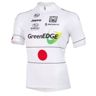 Santini Maillot Manches Courtes Greenedge Cycling Promos