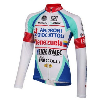 Santini Maillot Manches Longues Androni Giocattoli 2014 En Ligne