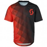 Scott Bikeshirt Progressive Rouge-Noir Europe