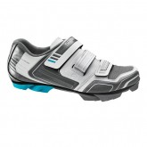 Shimano Chaussures VTT Femme Sh-Wm53 Blanches-Anthracite France Pas Cher
