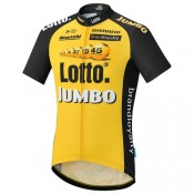 Shimano Maillot Manches Courtes Lotto Nl-Jumbo 2017 Vendre Cannes