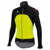 Promotions Sportful Veste Fiandre Light Noire-Jaune Néon