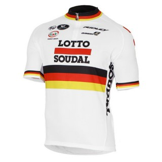 Achat Vermarc Maillot Manches Courtes Lotto Soudal Champion Allemand