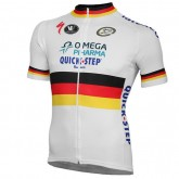 Vermarc Maillot Manches Courtes Omega Pharma-Quick-Step Champion Du Vendre France