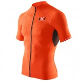 X-Bionic Maillot Manches Courtes Bike Race The Trick Remise Lyon